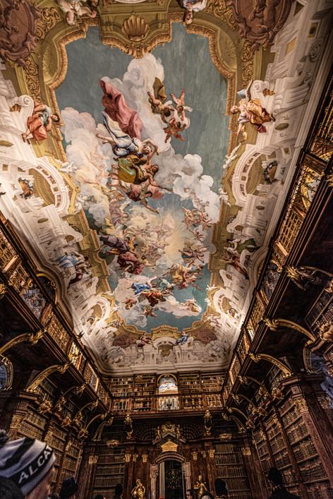 Melk Abbey - Library Ceiling