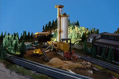 Model Train Sand Quarry
