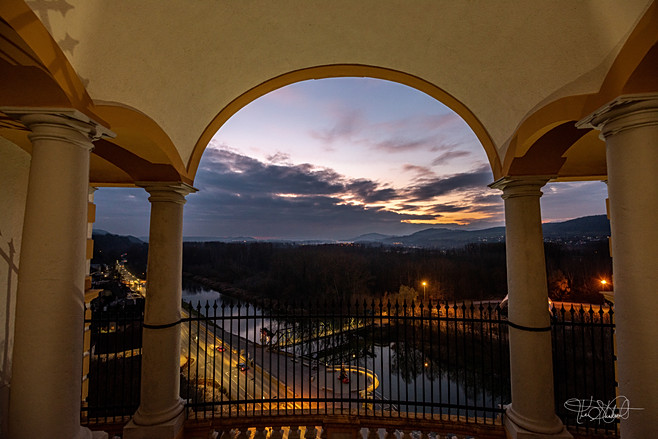 Melk Abbey - Sunset