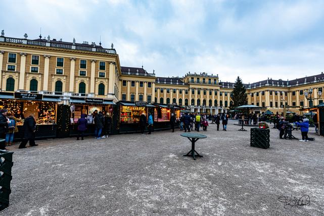 Schönbrunn Palace - Christmas Market 2