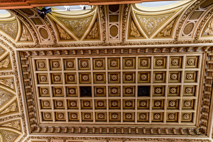 Viennese Concert Hall - ceiling