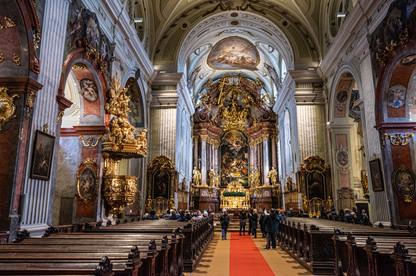 Krems - City Parish Church Sankt Veit - Inside