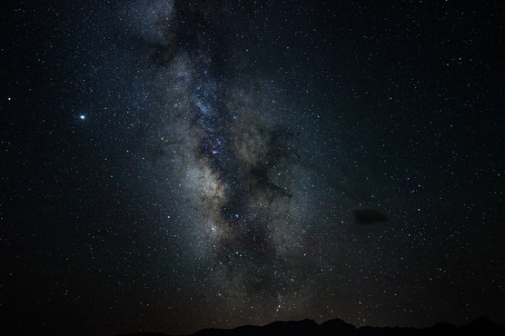 Milky Way - dead center is the Dark Horse Nebula