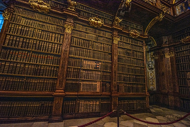 Melk Abbey - Library Books