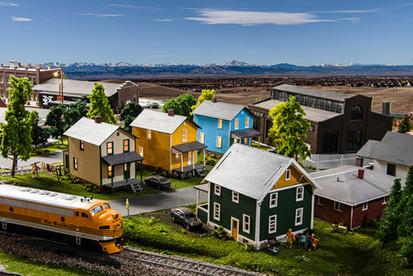 Model Train Neighborhood