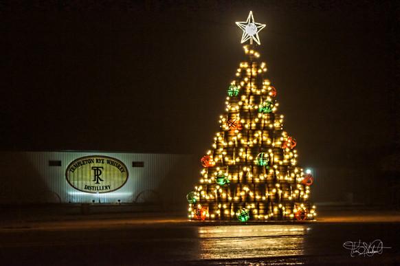 Templeton Iowa - Christmas Tree Night