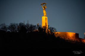Liberty Statute at the Citadel - Budapest