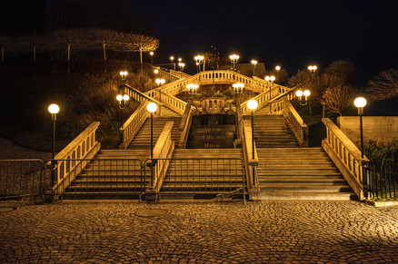 Melk Abbey - Stairs Out