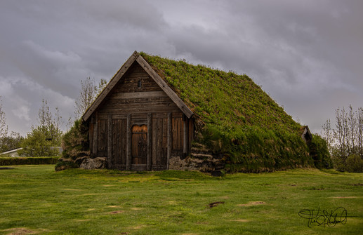 Original Church at Skálholt