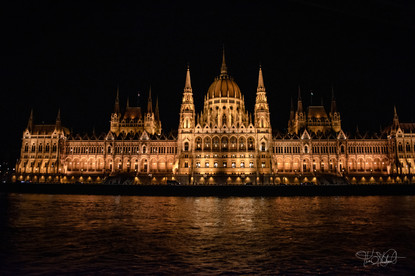 Hungarian Parliament Building - Front