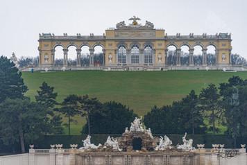 Schönbrunn Palace - Gloriettaugh window.