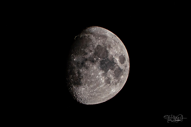 Moon Waxing Gibbous Phase