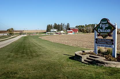 Field Of Dreams from the road Dyersville, Iowa
