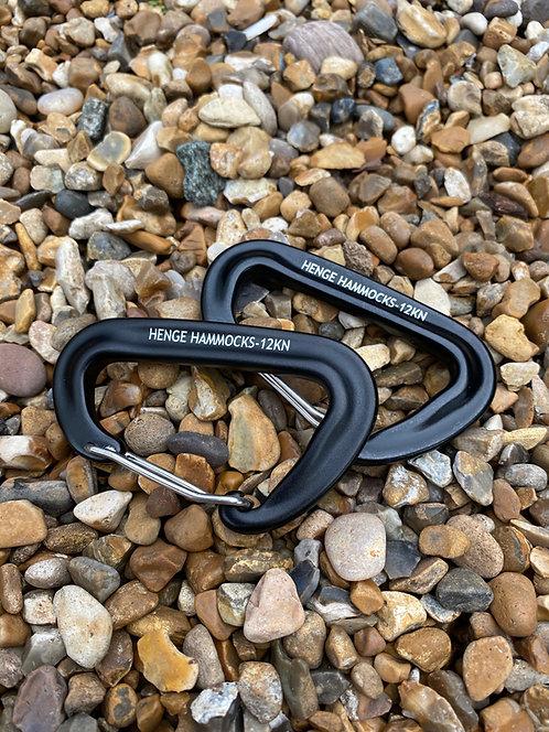 Wiregate Carabiners 12kn (pair)