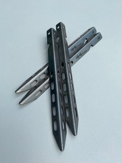 'V' Titanium Pegs (four)