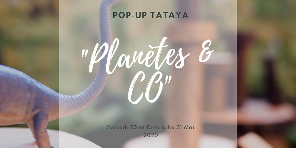 """POP-UP """"Planètes & CO"""" !"""