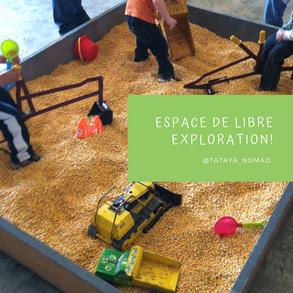 Espace de libre exploration !