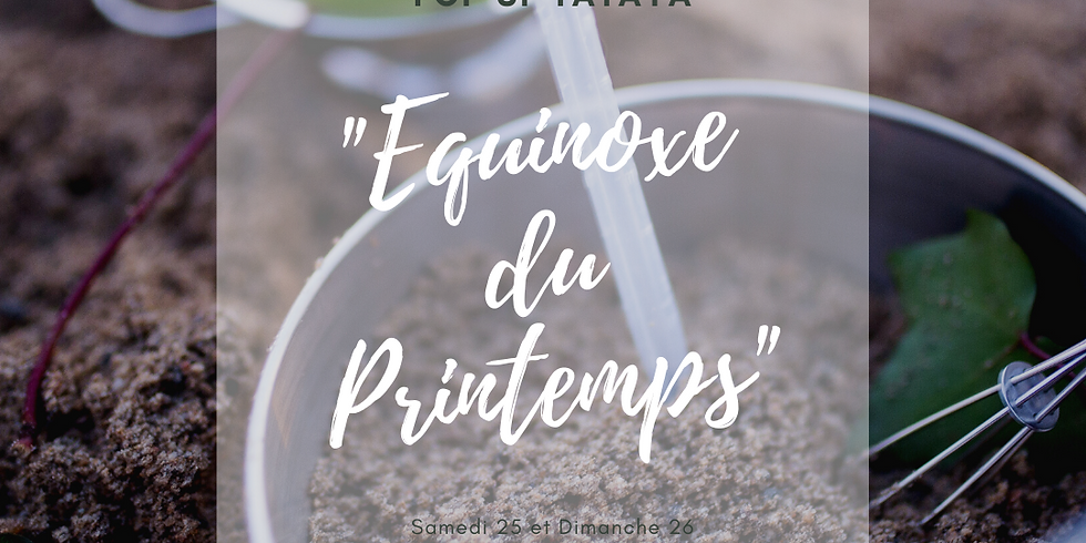 "POP-UP ""Equinoxe du Printemps"""