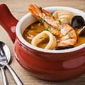 Seafood Cioppino with Rice