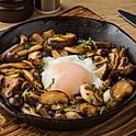 Wild Mushrooms with Hotspring Egg