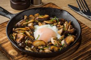 Wild Mushrooms with Hotspring Egg.jpg