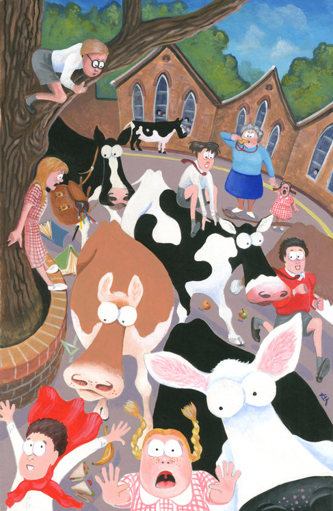 Pandemonium in the Playground by Karen Humpage