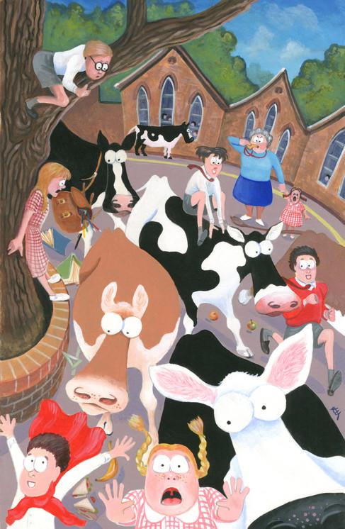 Pandemonium in the Playground by Karen Humpage