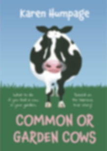 Common or garden cows book cover by Karen Humpage.jpeg