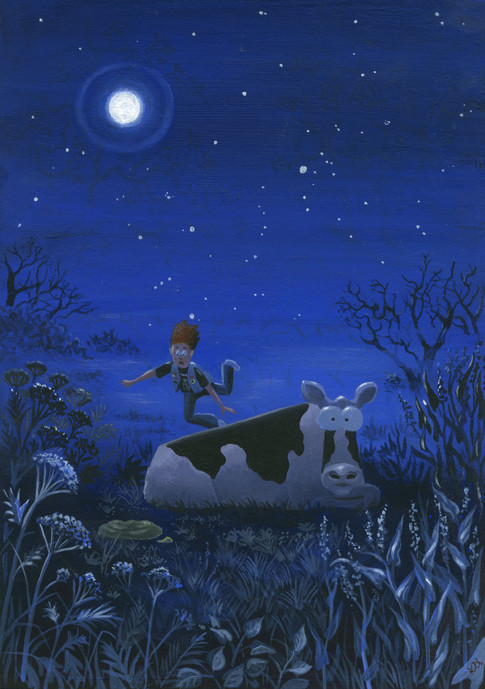 Moonlight Encounter by Karen Humpage