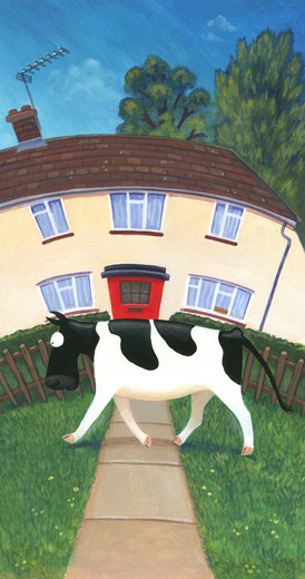 Cow with Purpose by Karen Humpage