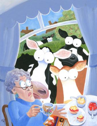 Teatime Turmoil by Karen Humpage