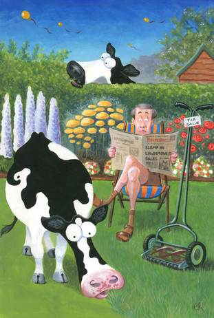 Mow Cow by Karen Humpage