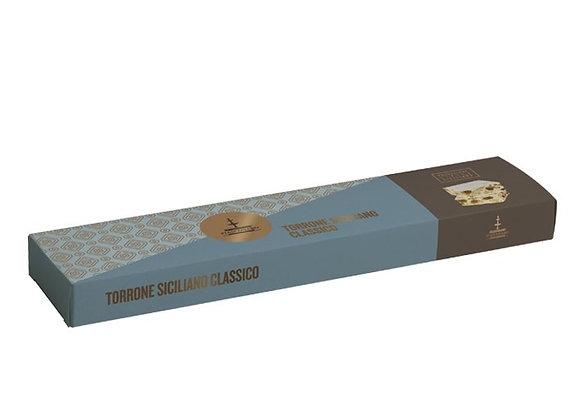 Traditional Soft Nougat Torrone from Sicily 150g