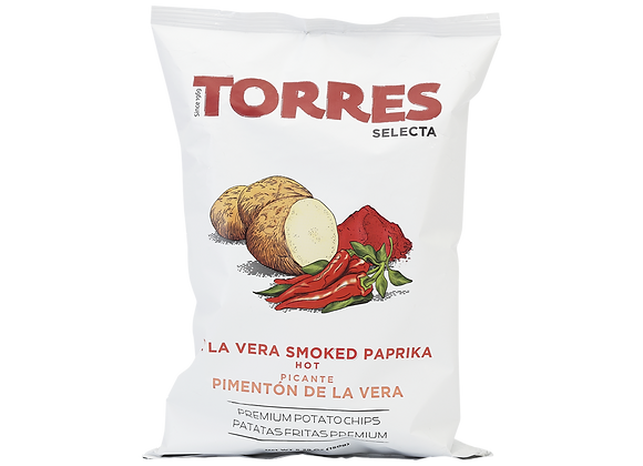 Torres Smoked Paprika Potato Crisps, 150g