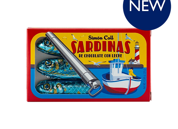 Chocolate Sardines 24g