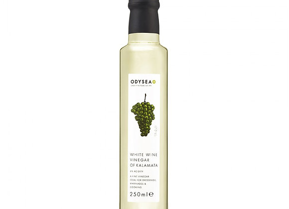 Odysea white wine vinegar 250ml
