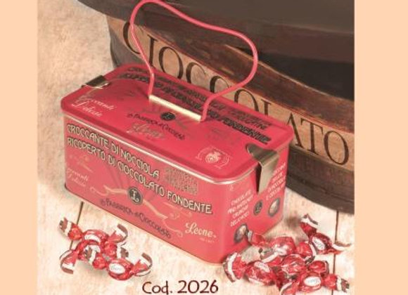 Chocolate & Hazelnut Pralines in Stylish Treasure Casket 150g