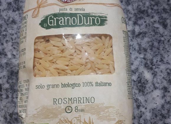 Orzo Pasta (Rosemarino) from Puglia, Organic