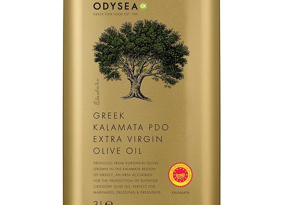 Odysea Greek extra virgin olive oil 3 litre