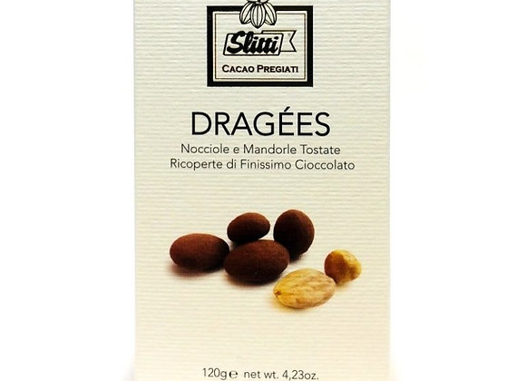 Dragees – Chocolate Covered Hazelnuts & Almonds 120g