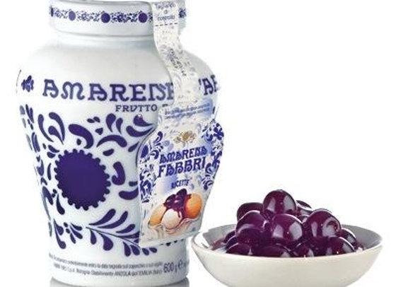 Italian Fabbri Amarena Cherries In Syrup (600g)