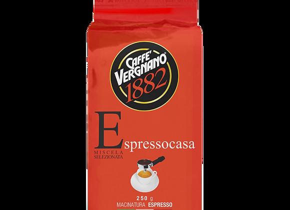 Vergnano Espresso Casa Machine Ground