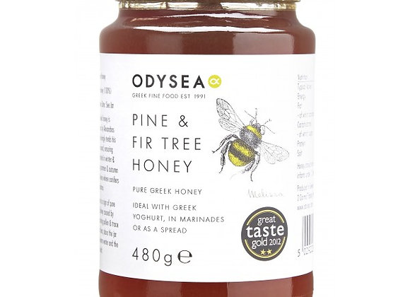 Odysea Greek Pine & Fir Tree Honey 480g