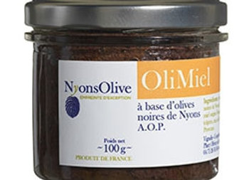 OliMiel - 100 g Black tapenade and honey