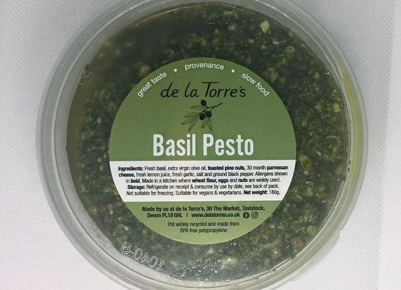 Made by us fresh basil pesto 180g