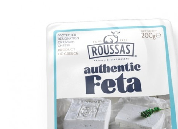 Roussas PDO Feta 100% Sheeps Milk
