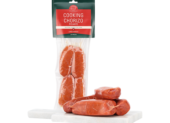 Brindisa Additive-Free picante (hot) Cooking Chorizo 200g