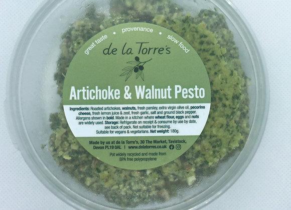 Made by us artichoke and walnut pesto 180g