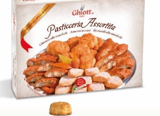 Tuscan Biscuit Selection: Amaretti, Cantuccini, Ricciarelli 300g