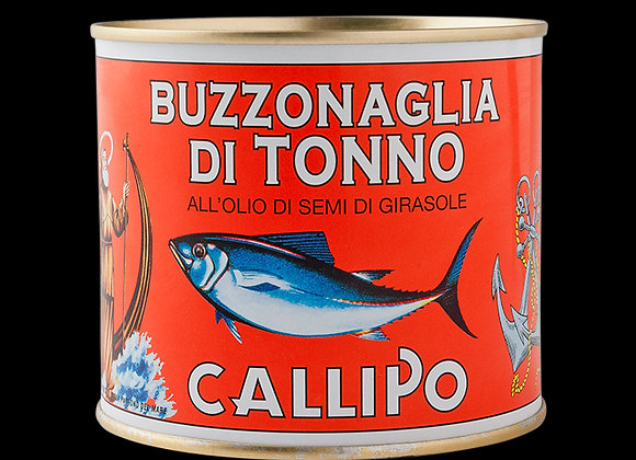 Callipo Buzzonaglia Tuna with Sunflower Oil in Tins